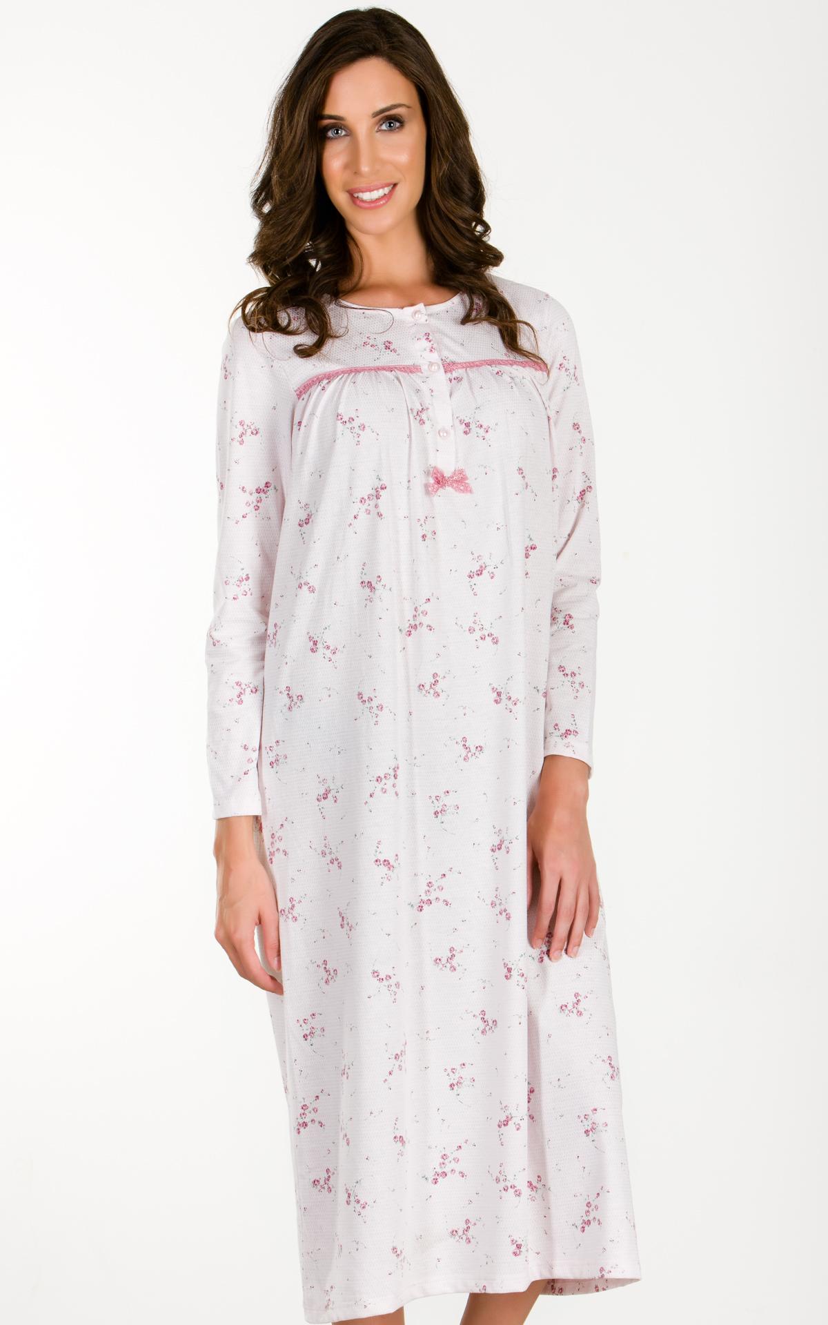 Woman Pyjama Nightdress Nightdress Floral e3eabe30e03
