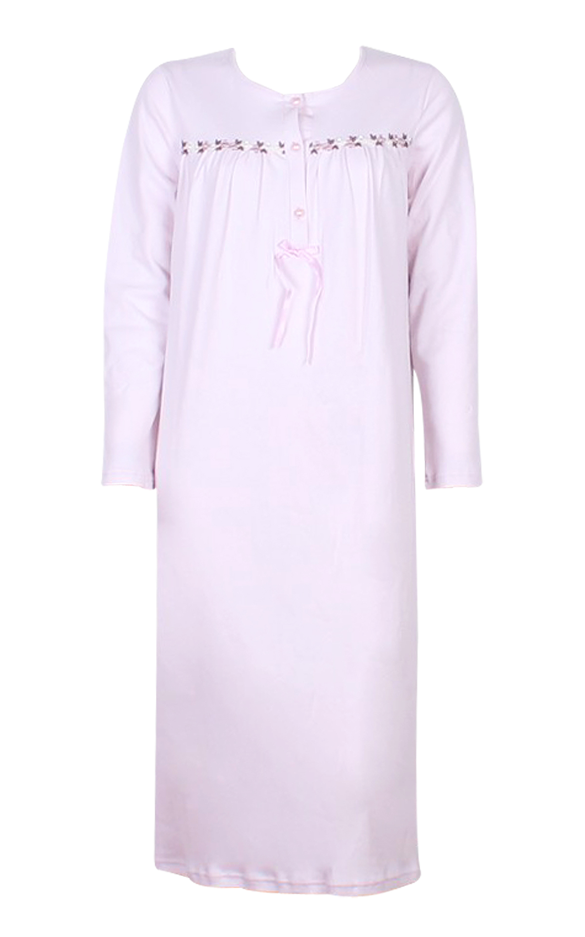 Woman Pyjama Nightdress Nightdress Floral trim a9a42f8f58f